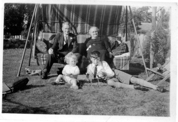 Granda & Grandma Broughton, John, David